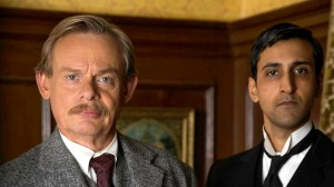 DOYLE 2014 LTD FOR  ITV ARTHUR & GEORGE Pictured: MARTIN CLUNES as Arthur and ARSHER ALI as George. These images are the copyright of ITV/DOYLE 2014 LTD.